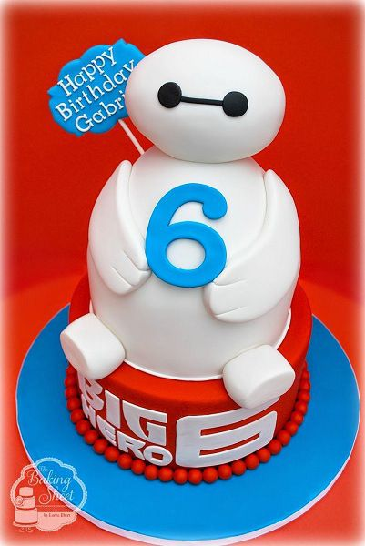 Big Hero 6 Baymax Birthday cake For all your cake decorating