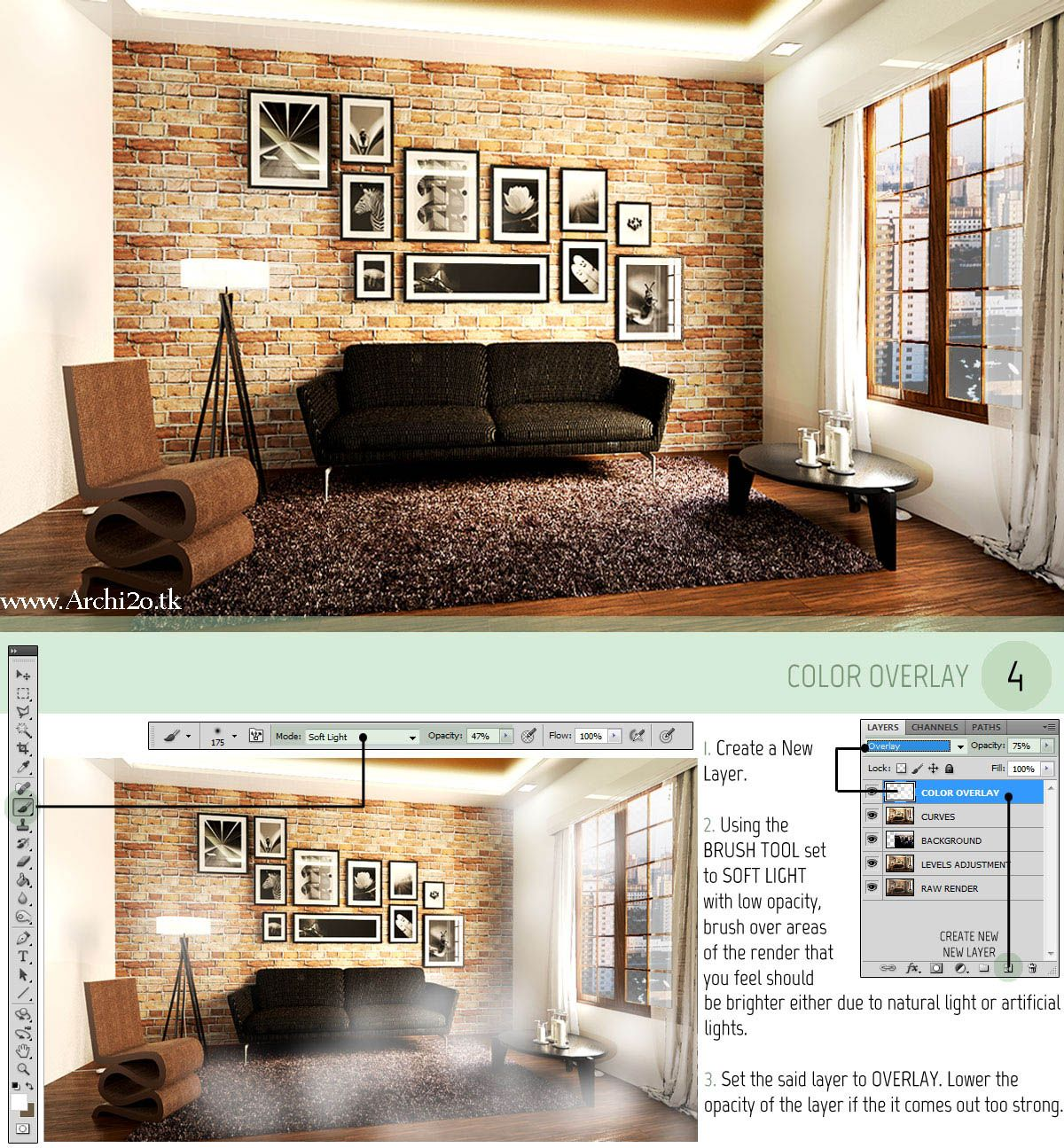 Pin by marcella tammi on masters pinterest tutorials vray for sketchup tutorial part post processing i manipulate photos a lot what i do with my renderings is no different sketchup tutorial vray setting baditri Images