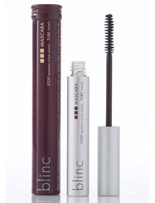 Blinc Mascara is not only vegan, it's also revolutionary. It creates water-resistant tubes that surround the lashes and it seriously doesn't come off until you tell it to. You simply rub the eyes gently with warm water and the tubes wash off in your hand. Very space age!