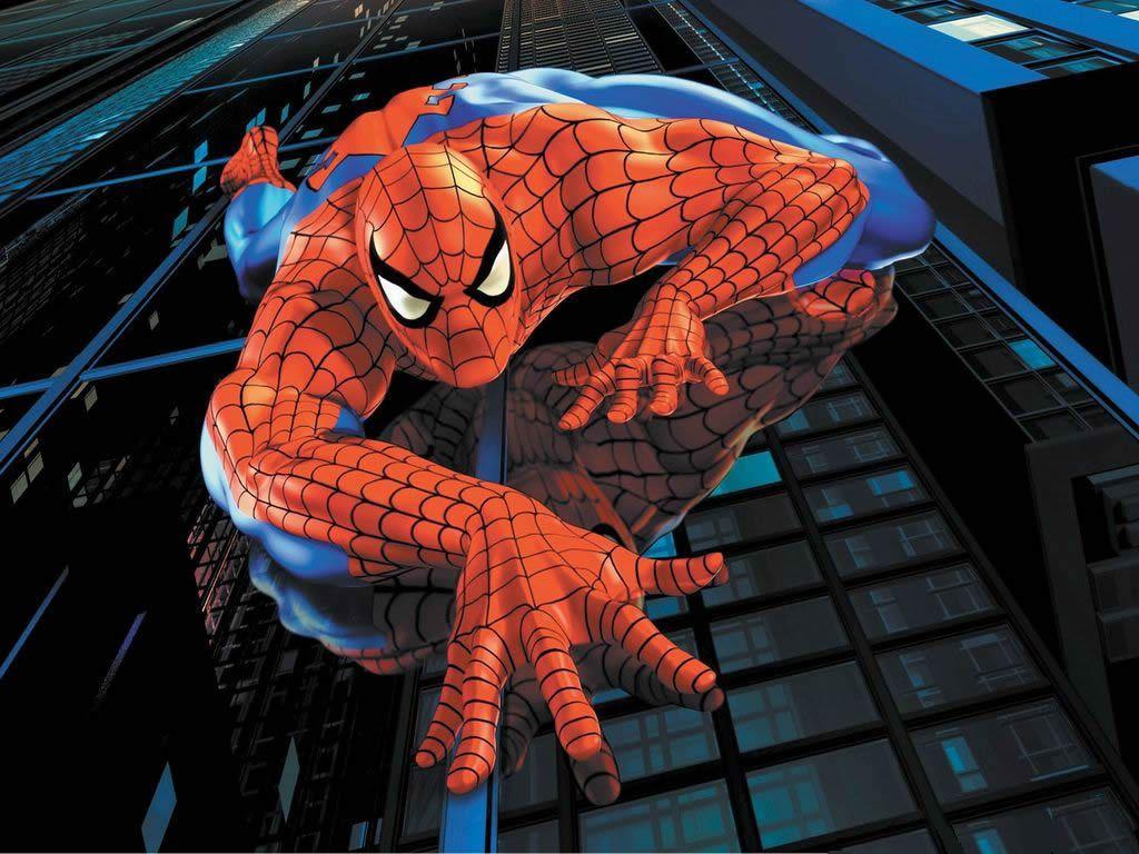 Spider Man Climbing Building Clip Art Cliparts