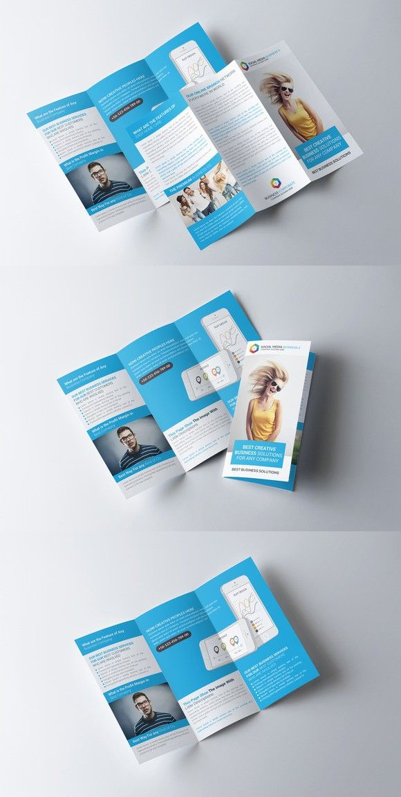 Software House Trifold Brochure  Brochure Templates