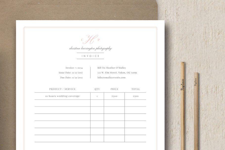 photography studio invoice template invoicestudiophotographytemplates