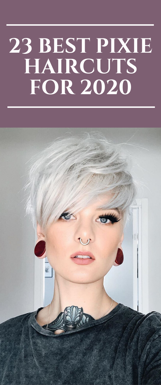 23 Best Pixie Haircuts for 2020