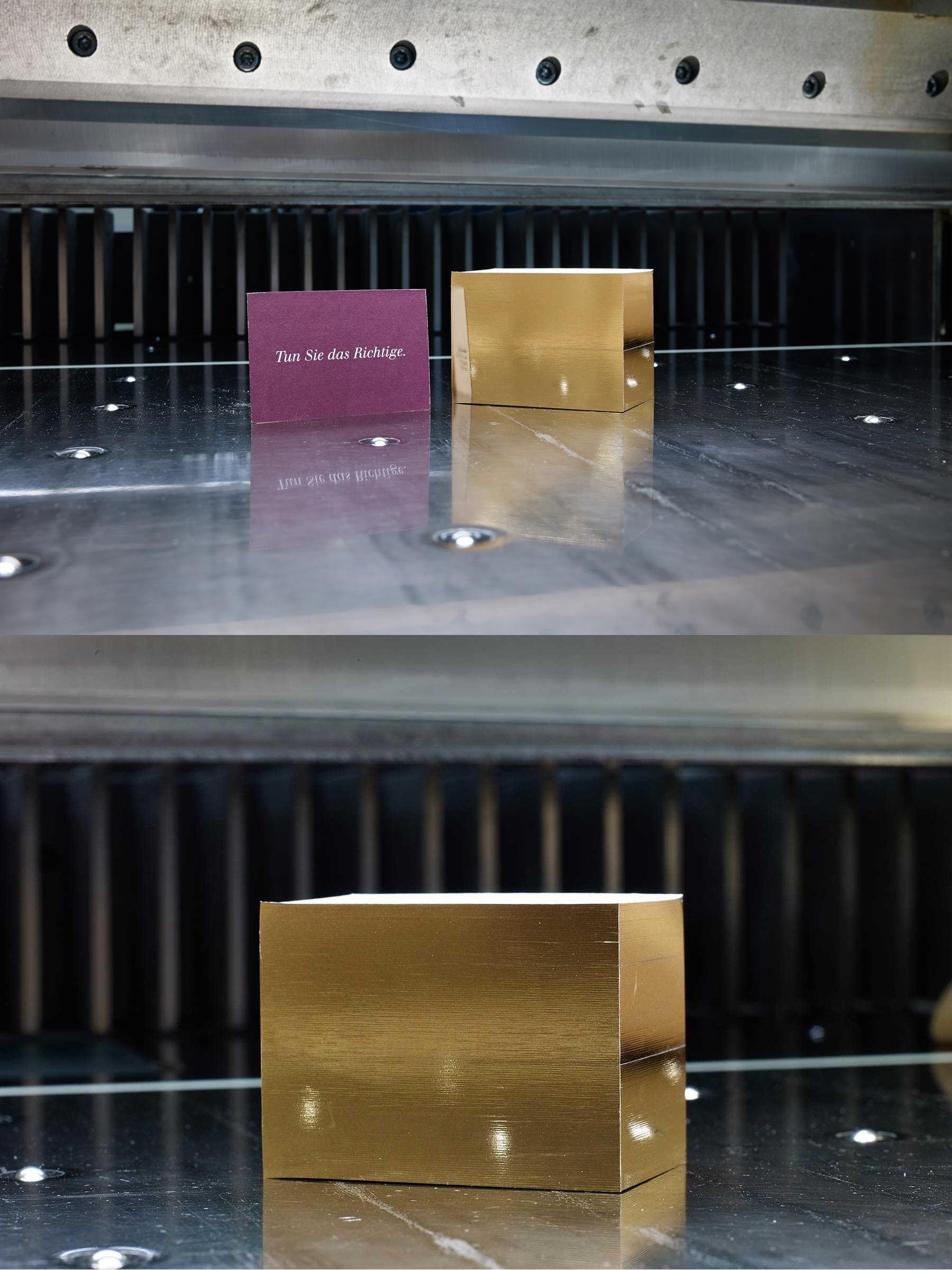 Na Das Nennen Wir Einen Goldschnitt Visitenkarten Farb