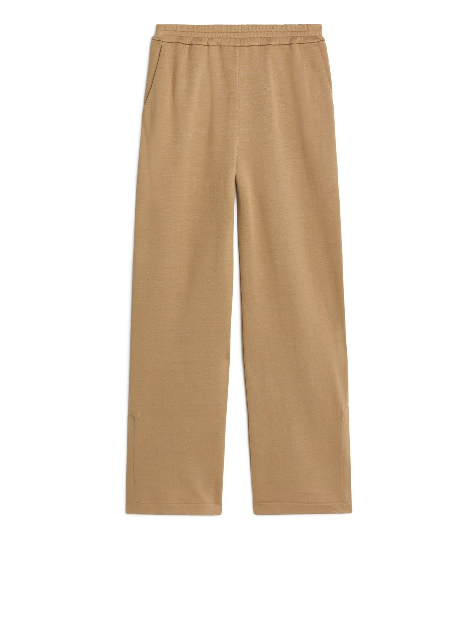sale uk first look new release Cotton Silk Sweatpants - Beige - Trousers | Soft | Cotton ...