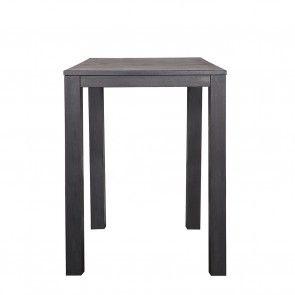 Largo bartafel Woood zwart 85x85cm | Musthaves verzendt gratis