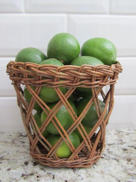 Basket of Limes TuesdayTip 6-21-11   acanthusandacorn.blogspot.com