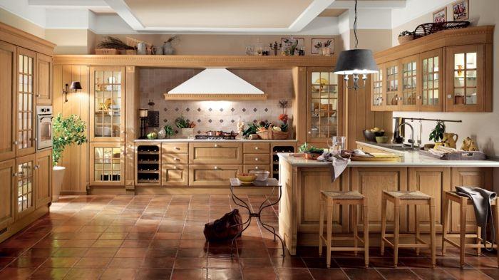 1001 Ideas De Cocinas Rusticas Calidas Y Con Encanto Diseno