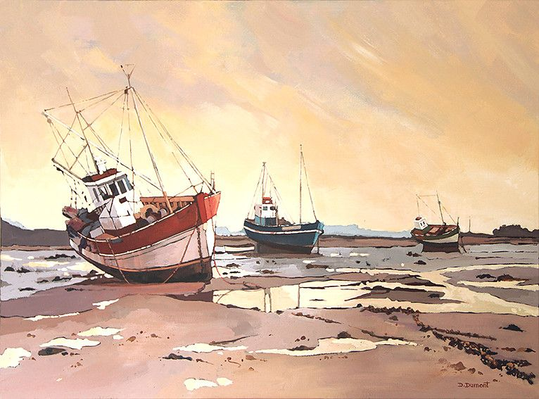 Galerie Danielle Dumont Boat Art Marine Art Nature Scenes
