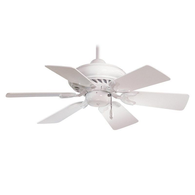 Minkaaire F562 Wh White Supra 32 6 Blade Indoor Ceiling Fan Lightingdirect Com In 2020 Ceiling Fans Without Lights Ceiling Fan White Ceiling Fan