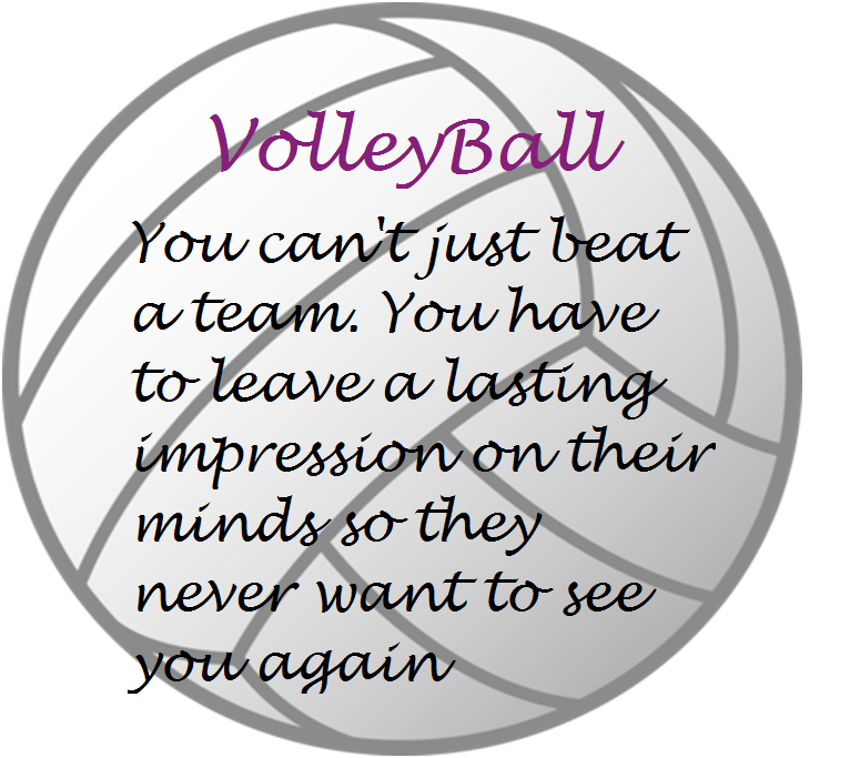 Volleyball Pictures And Quotes: Volleyball Quotes - Google Search