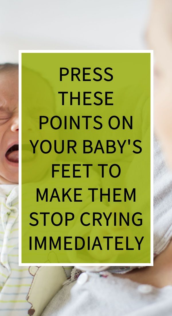 Press These Points On Your Baby S Feet To Make Them Stop Crying Immediately Natural Teething Remedies Herbal Remedies Diarrhea Remedies