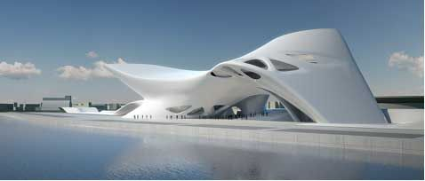 Modern Architecture Zaha Hadid zaha hadid central station salerno | a r c h i t e c t u r e