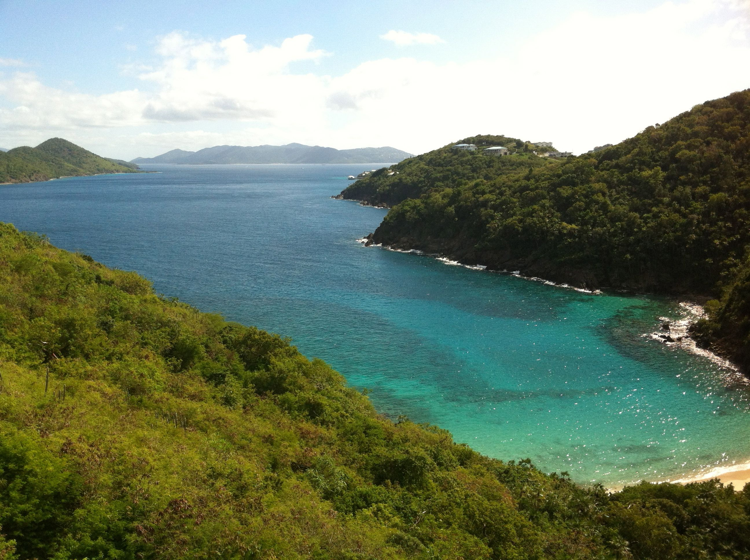 Off our deck in St. Thomas, Virgin Islands