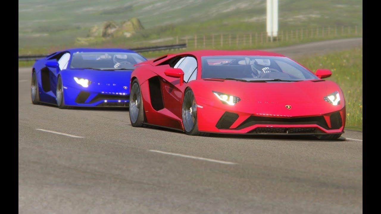 Top Speed Lamborghini Aventador S at Highlands | Virtua Sports Cars ...