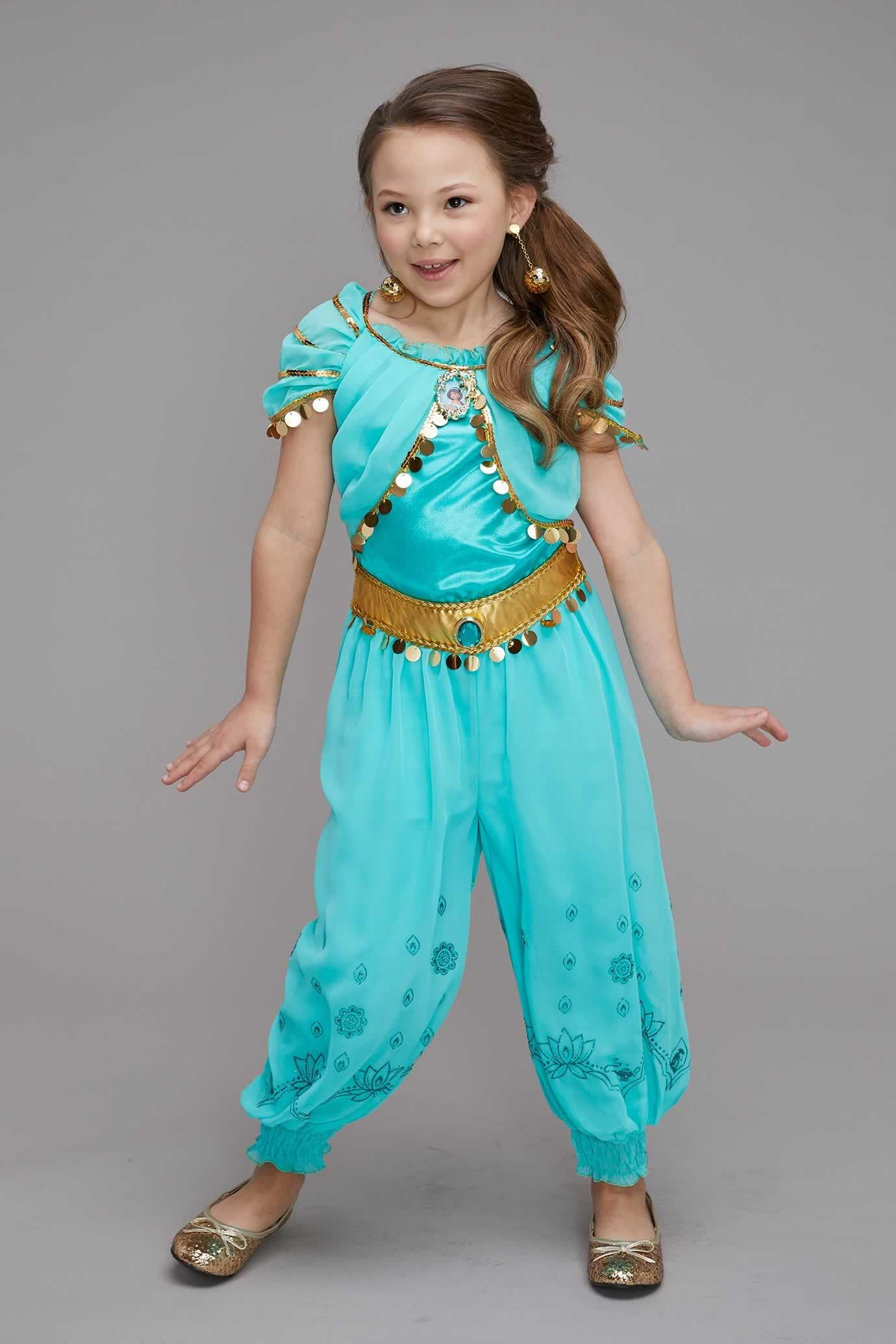 World Book Day-Aladdin-Genie NEW PRINCESS JASMINE Child/'s Costume All Ages