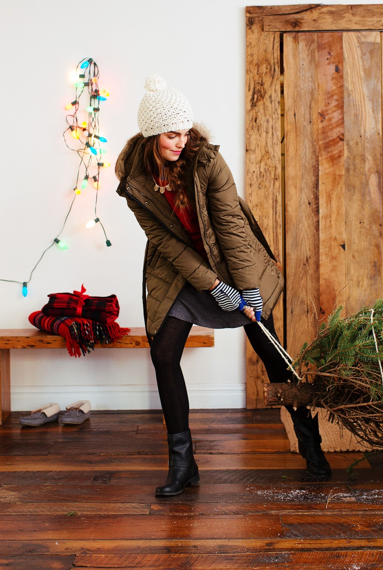 don't let the cold keep you from doing your winter traditions.