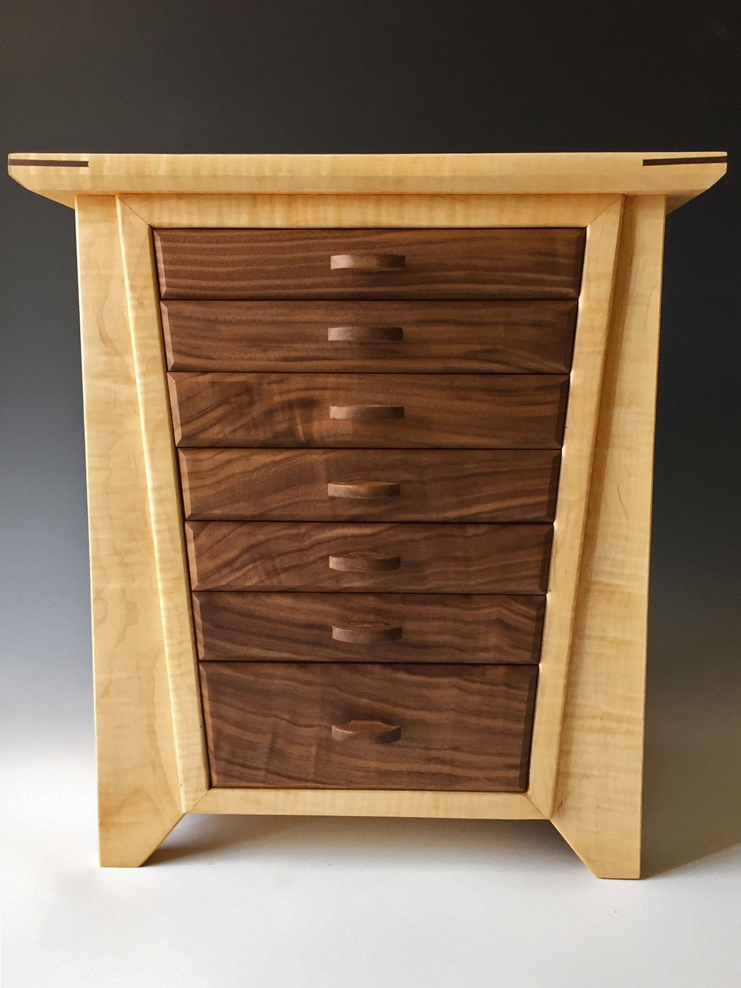 My handmade jewelry boxes are made of exotic woods; each one is ...