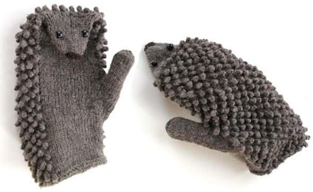 nouveau authentique grande remise pour la réputation d'abord Moufles Herissons Retro-vintage gris -unisexe- pour enfant ...
