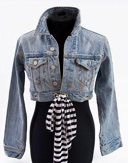 Como renovar nuestro suéter de jeans | MODA-SI