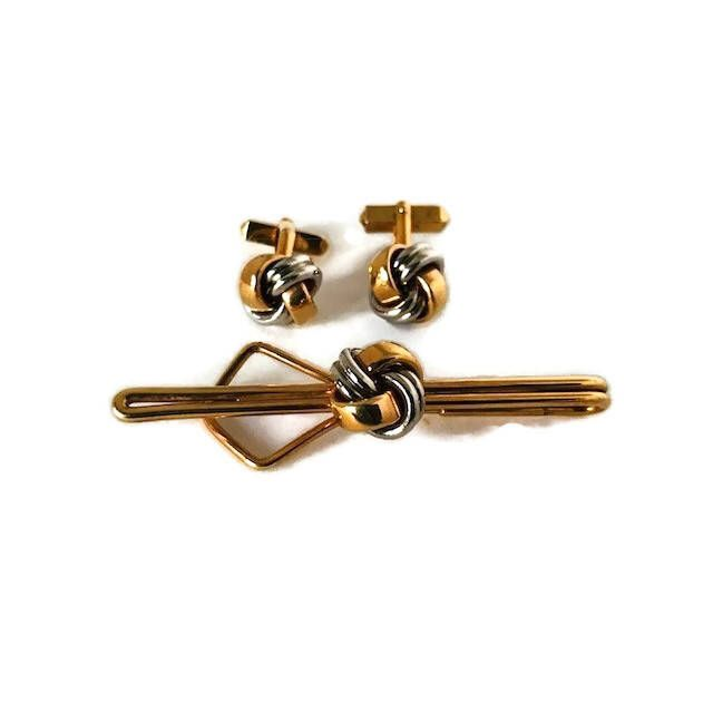 Metal Knots Spanish Colors Cufflinks