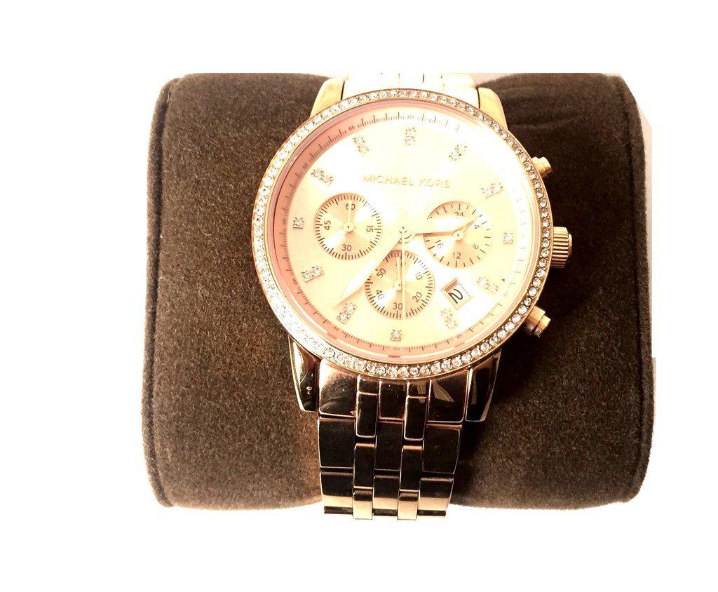 e31568925d39 Michael Kors Rose Gold MK 6343 Watch