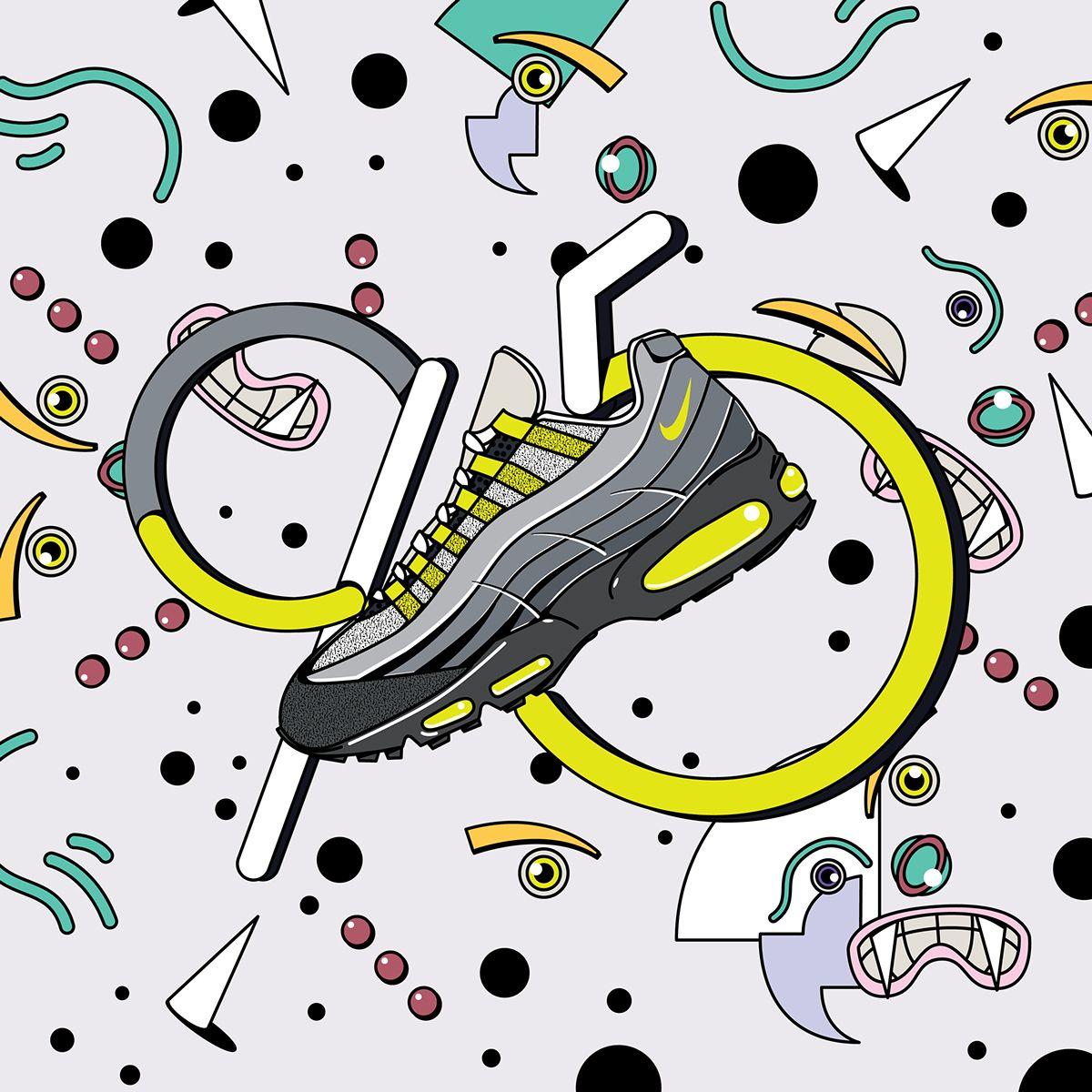 Nike Air Max 95 on Behance