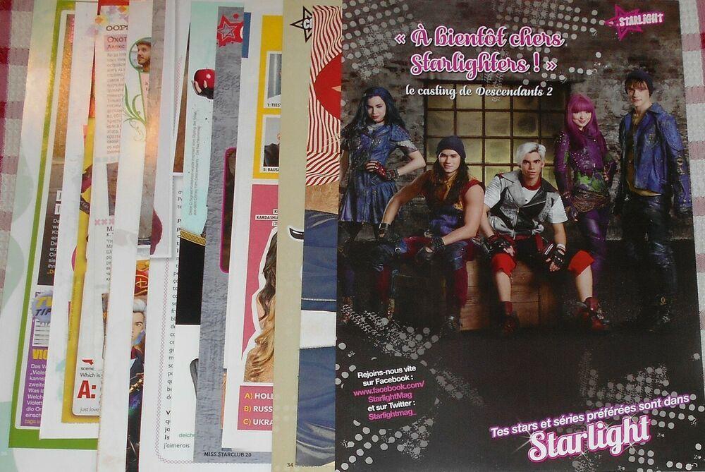Descendants TV Show Cast - Magazine Poster Clippings Mini Collection # 1