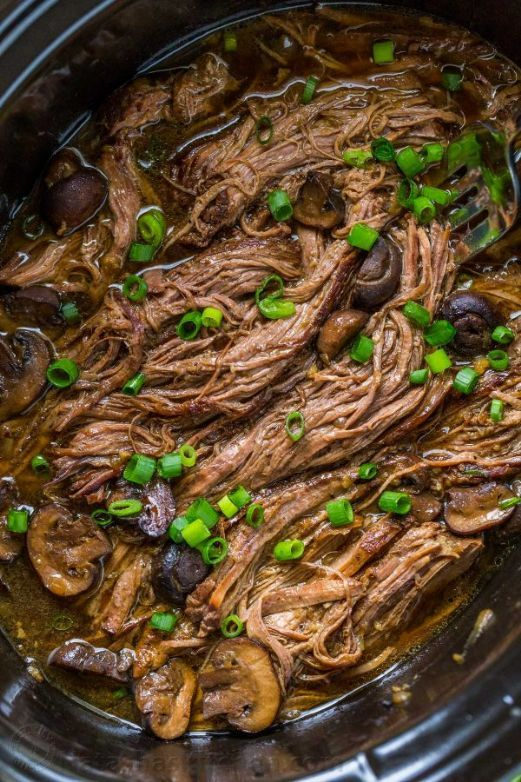 Photo of KETO BEEF BRISKET Slow Cooker Recipe