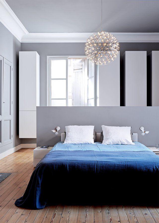 Chambre grise intemporelle et l gante on valide inspirations chambre home decor cosy - Chambre a coucher pour couple ...
