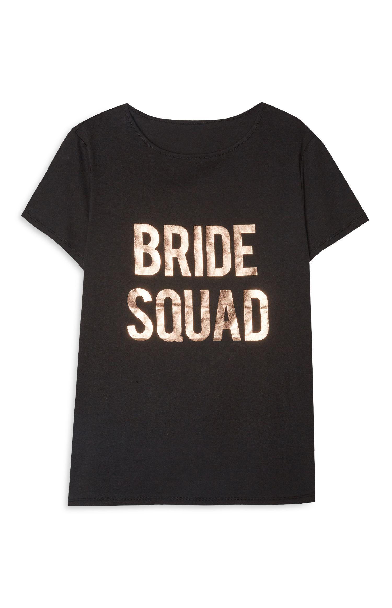 damen bride to be hen party bridal wedding primark white t