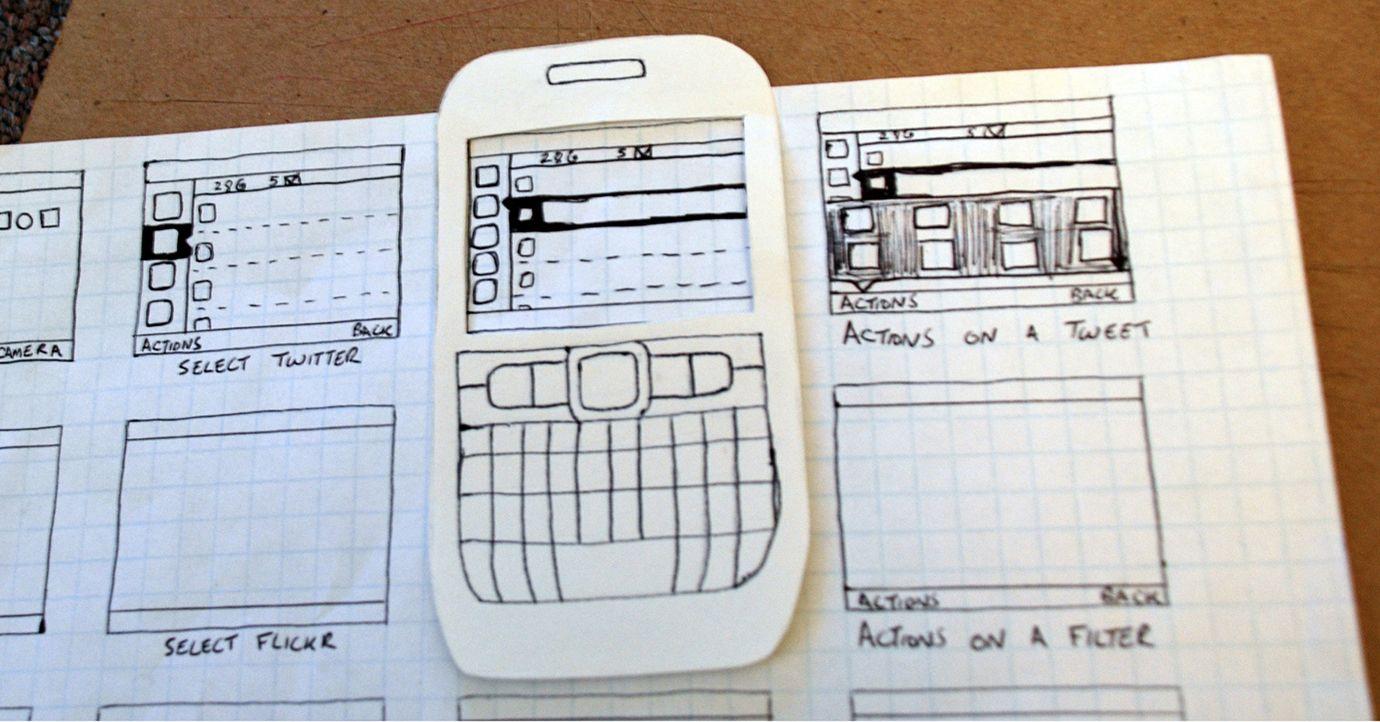 paper prototyping - Google Search | UX Design | Pinterest | Paper ...