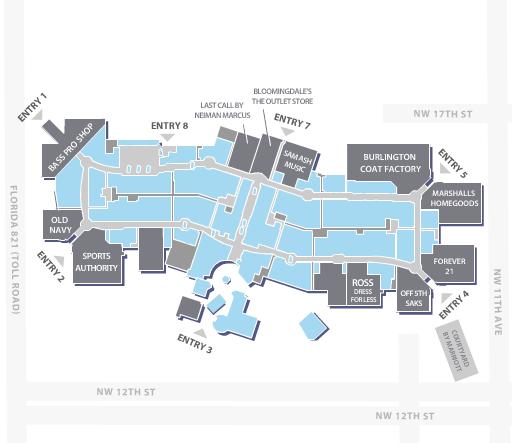 dolphin mall miami map Dolphin Mall Retail Architecture Interior Sliding Barn Doors Mall dolphin mall miami map