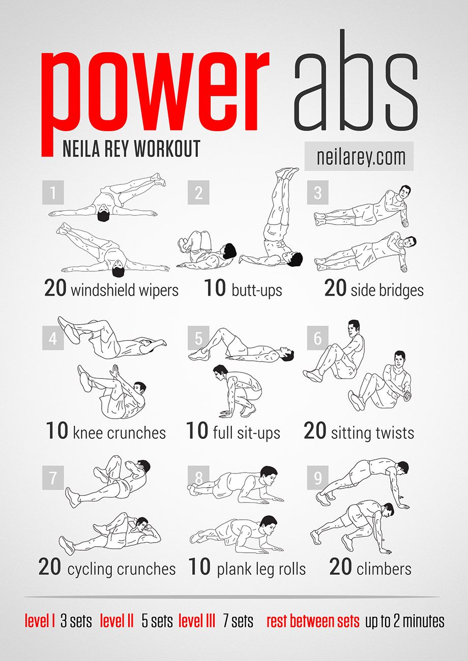 Power Abs Workout For A Lot Of Various Ab Workouts Click Here