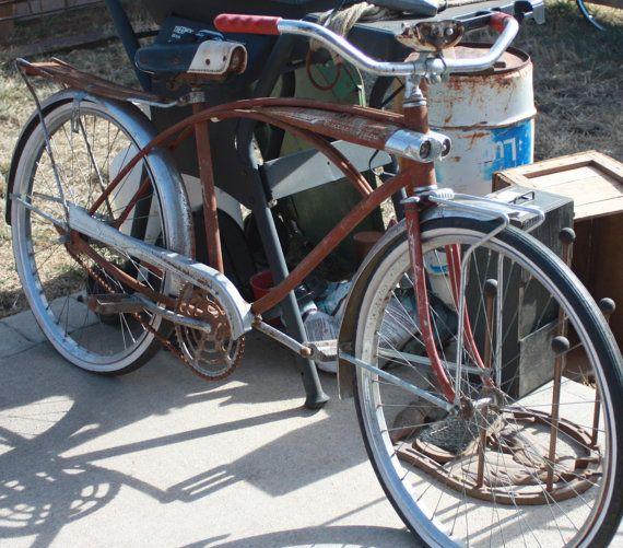 Vintage All Original 1950s Western Flyer Bicycle Bicycle