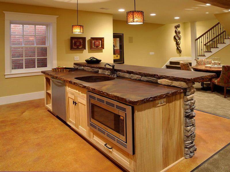 kitchen sink in island - Google Search