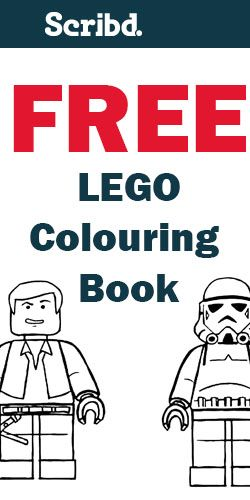 Free lego coloring book, bday printables too | Lego Crafts ...