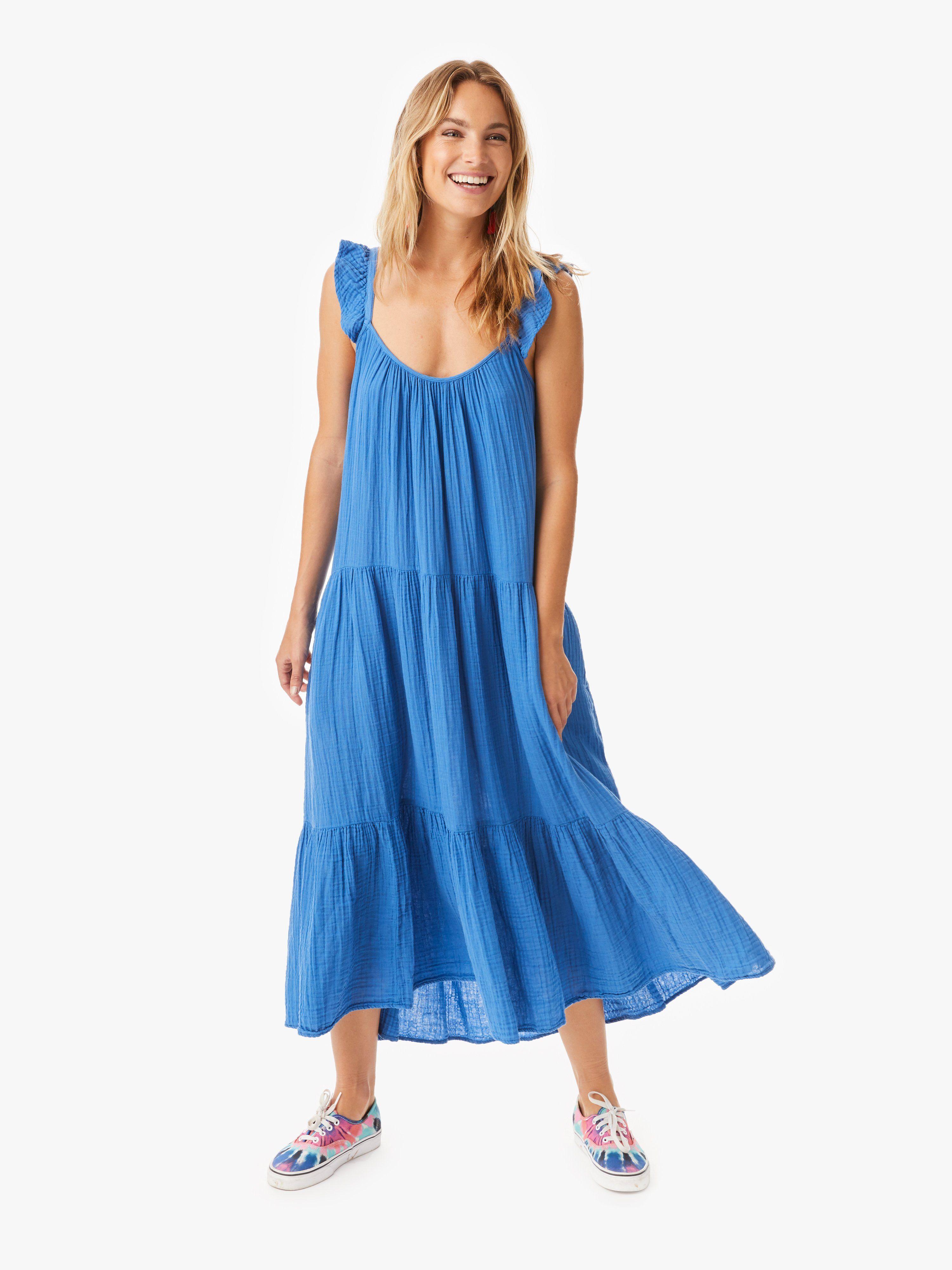 Dusty Pink Rumer Dress Cotton Gauze Dress Gauze Dress Dresses [ 4000 x 3000 Pixel ]