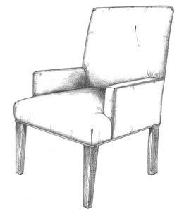 Charmant HF 263   Chair   Hallman Furniture