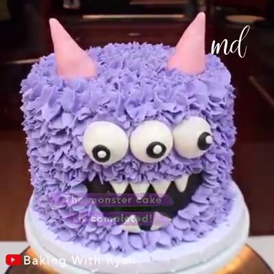 Photo of Monster Cake Tutorial