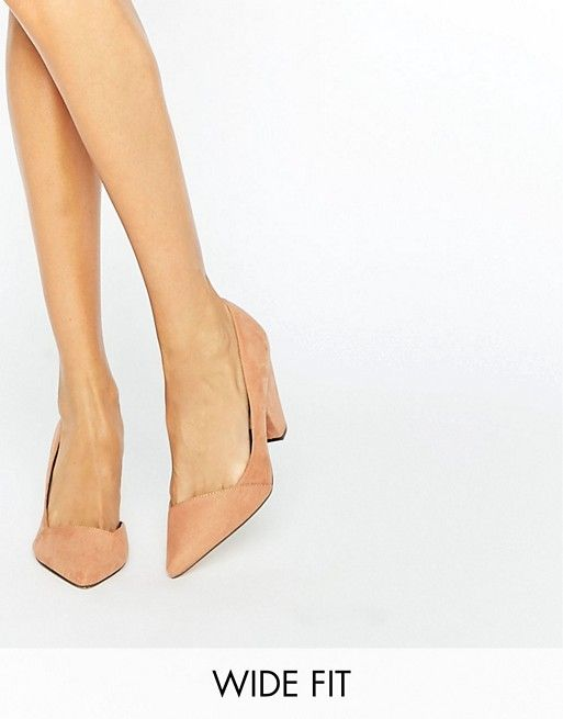 fd6d9be34478 ASOS SAPPHIRE Wide Fit Pointed Heels. Discover Fashion Online Pretty Shoes