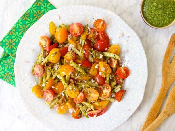 Wax bean pasta salad ensaladas ensaladas forumfinder Gallery