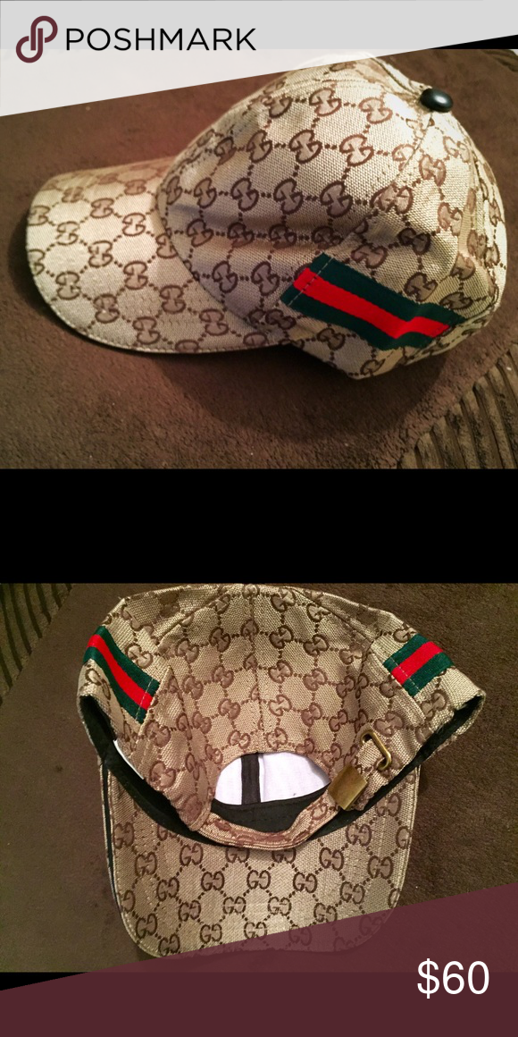 c82e5e9a975 Gucci Hat Traditional Gucci colors. Adjustable. New. No trades. Gucci  Accessories Hats