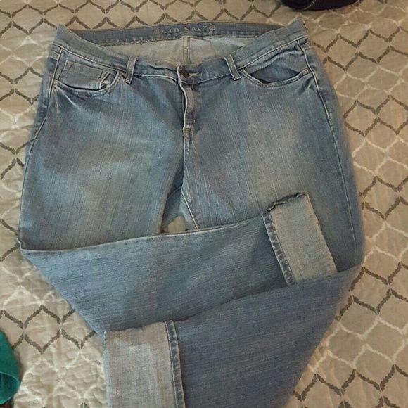 Capri boyfriend jeans Jeans, capri, boyfriend. Size 16 Old Navy Jeans Boyfriend