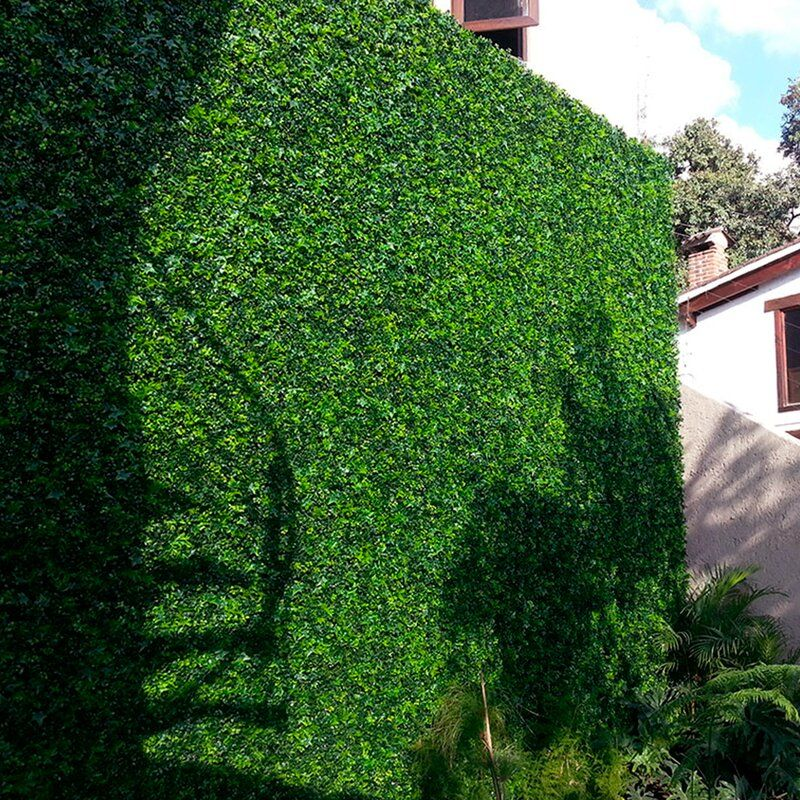 1 5 Ft H X 1 5 Ft W Artificial Moss Fence Panel