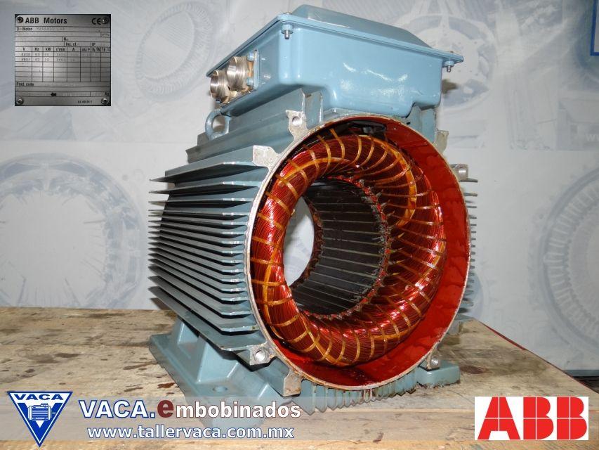 Motor Ca Abb Motor Electrico Motores Electrica