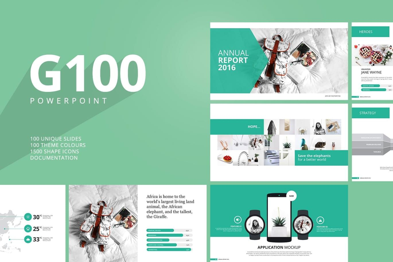 G100 magazine powerpoint template by factory738 on envato elements g100 magazine powerpoint template by factory738 on envato elements alramifo Gallery
