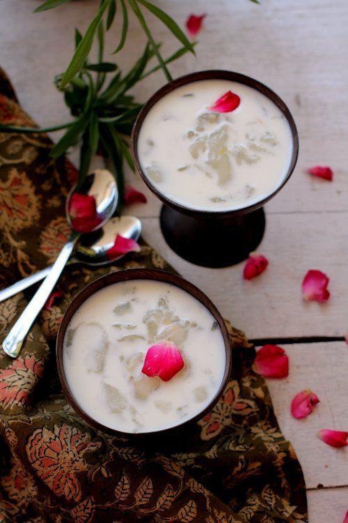 nongu ( toddy palm seed) - healthy recipe