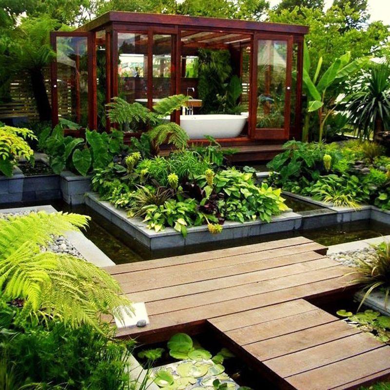 55+ Beautiful Outdoor Bathroom Ideas -Design Bump