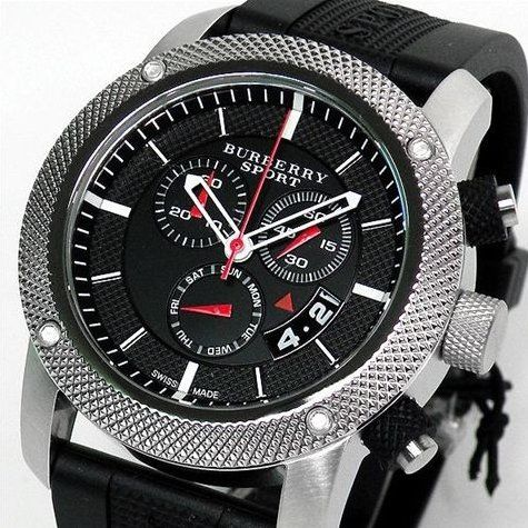 93bc04928f5 Original Burberry Sport Athlete Style Mens Chronograph Watch BU7700 ...